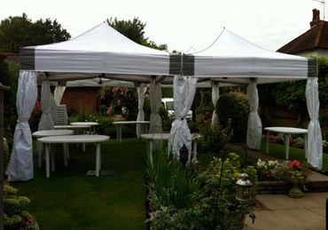 6m x 6m Marquee with Drapes