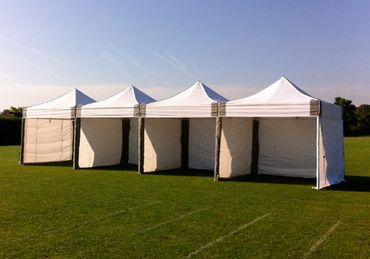 4m x x 3m x 3m Marquees Joined
