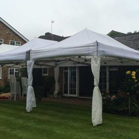 One of the Apollo Party Hire Marquees