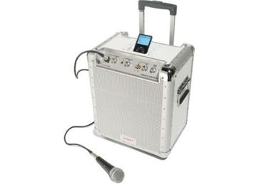 Portable iPod Boom-Box and PA System