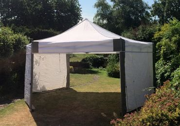 6m x 6m Hexagon Marquee